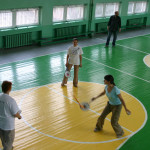 Одна из первых тренировок, сентябрь 2007