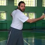 Одна из первых тренировок, июнь 2007