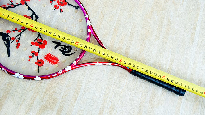 Length-of-racket