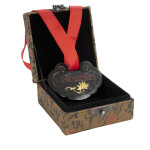 Medal in box